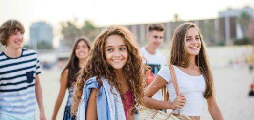 teenagers language trip